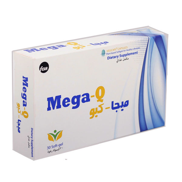 Picture of Mega-q 30 capsules